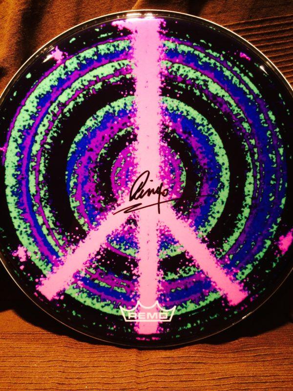 Ringo Peace Drum Head