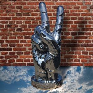 Peace Sign In Sky