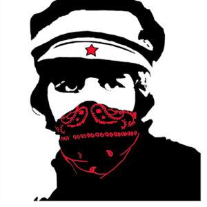 Red Bandana Man – Canvas Edition