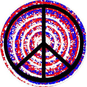 Peace 1 Drum Head