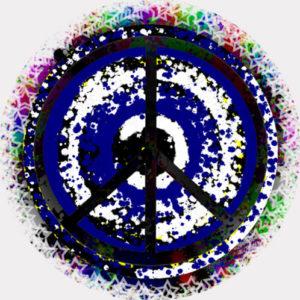 Peace 9 Drum Head