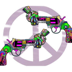 Knotted Peace Gun