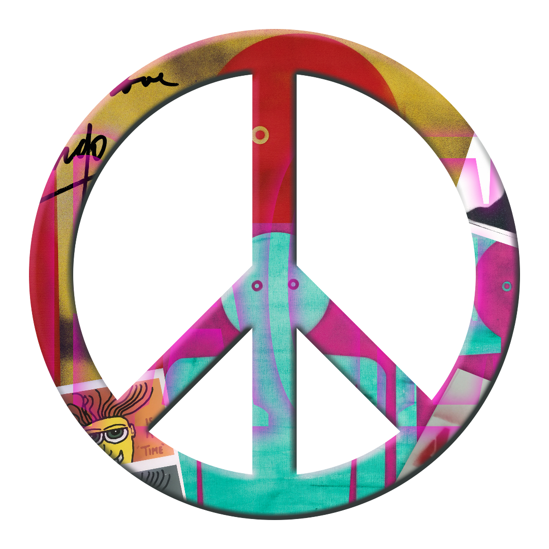 Peace Sign 19 by Ringo Starr